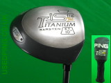 Classic PING Drivers - TISI TOUR, TISI Tec, TISI, SI3, I3, ZING2, ZING, ISI, EYE2 and EYE wooden Drivers