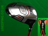 Second Hand Ping G15, G15 DRAW, K15 and I15 Drivers Currently in Stock
