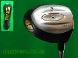 Second Hand PING Classic Fairway Woods for Sale - I3, EYE, ISI Tec