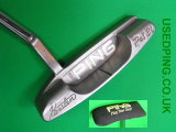 Second Hand PING Classic Putters for Sale, CRAZ-E, Anser, Pal