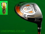Second Hand PING G10 and G10 Draw Fairway Woods for Sale - G10