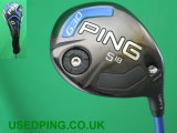 Second Hand PING G30 Fairway Woods for Sale