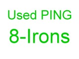 Single PING 8 Iron for sale