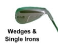 Used PING Wedge and Single Irons for sale